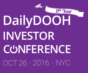 DailyDOOH Investor Conference 2016